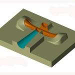 Kokila za nosac dalekovodnog uzeta - muski model