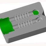 Kokila za odstojni izolator - 2 komada