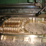 CNC milling and scraping
