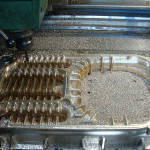 CNC scraping and milling